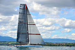 Alinghi 5 Royalty Free Stock Photos