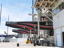 Alinghi, America's cup Stock Photos