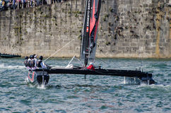 Alinghi compete in the Extreme Royalty Free Stock Photography