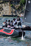 Alinghi compete in the Extreme Royalty Free Stock Photos