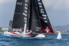 Extreme Sailing Series, Barcelona Royalty Free Stock Image