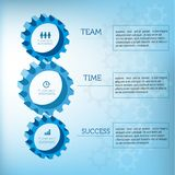 Alinha o projeto infographic Fotografia de Stock