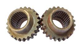Alinha rodas denteadas para o metal da indústria Foto de Stock