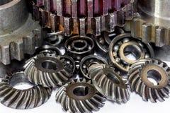 Alinha rodas denteadas para o metal da indústria Imagem de Stock