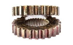 Alinha rodas denteadas para o metal da indústria Fotografia de Stock