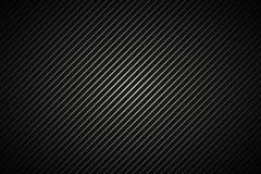 Alinhador longitudinal listrado metálico abstrato escuro do fundo, o preto e o cinzento Foto de Stock Royalty Free