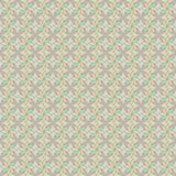Alinhador longitudinal sem emenda do vetor de flores abstratas ilustração stock