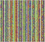 Alinhamento da sequência do ADN imagem de stock royalty free