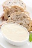 Alioli mit Brot Lizenzfreie Stockbilder