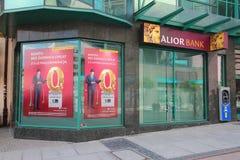 Alior bank i Polen Fotografering för Bildbyråer