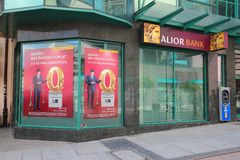 Aliorbank in Polen Stock Afbeelding
