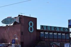 Alioto ` s San Fransisco ` s stara rodzina biega restaurację obraz stock