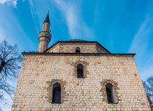Alipasina-Moschee in Sarajevo Stockbilder