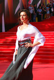 Alisa Khazanova przy Moskwa Ekranowym festiwalem Zdjęcia Royalty Free