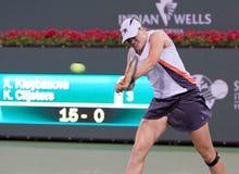 Alisa Kleybanova at the 2010 BNP Paribas Open. Tennis tournament at Indian Wells, California Royalty Free Stock Image