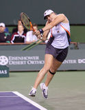 Alisa Kleybanova at the 2010 BNP Paribas Open Royalty Free Stock Images