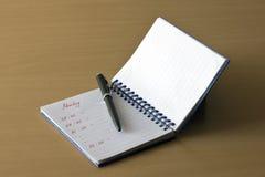 Alisadora y lápiz Foto de archivo libre de regalías