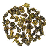 Alishan oolong. Taiwan tea isolated Royalty Free Stock Images