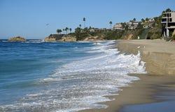 Aliso plaża w Południowy laguna beach, Kalifornia fotografia royalty free