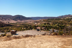 Aliso Viejo Wilderness Park. View from the top hill in Aliso Viejo, California, United States stock photos
