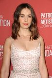 Alison Brie royalty free stock photography