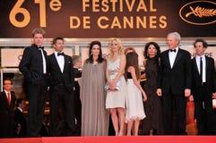 Alison Eastwood, Angelina Jolie, Brad Pitt, Brian Grazer, Clint Eastwood, Dina Eastwood, Kyle Eastwood Στοκ Εικόνες