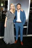 Alison Eastwood en Scott Eastwood royalty-vrije stock foto