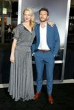 Alison Eastwood et Scott Eastwood photo libre de droits