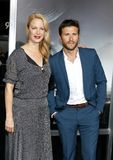 Alison Eastwood et Scott Eastwood photo stock