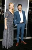 Alison Eastwood and Scott Eastwood royalty free stock photography