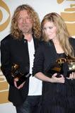 Alison Krauss, Robert Plant Royalty Free Stock Photo