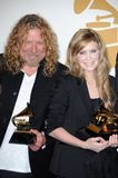 Alison Krauss, Robert Plant Royalty Free Stock Photography