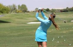 Alison Lee przy ANA inspiraci golfa turniejem 2015 Zdjęcie Royalty Free