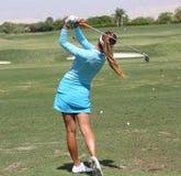 Alison Lee przy ANA inspiraci golfa turniejem 2015 Obraz Royalty Free
