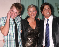 Alison Sweeney,Bryan Dattilo,Chandler Massey Royalty Free Stock Images