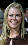 Alison Sweeney. HOLLYWOOD, CALIFORNIA. September 8, 2005. Alison Sweeney at the `Just Like Heaven` Los Angeles Premiere at the Grauman`s Chinese Theatre in Royalty Free Stock Image