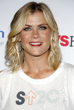 Alison Sweeney. At the 5th Biennial Stand Up To Cancer held at the Walt Disney Concert Hall in Los Angeles, USA on September 9, 2016 Royalty Free Stock Photography