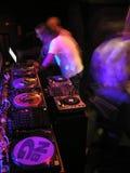 Aliste para DJ foto de archivo libre de regalías