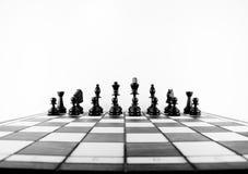 Aliste para el ajedrez Imagen de archivo libre de regalías