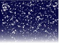 Aliste para el fondo de la nieve de las vacaciones de invierno stock de ilustración