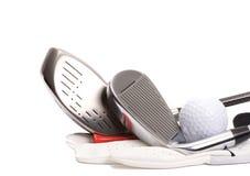 Aliste para el golf Fotografía de archivo