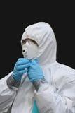 Aliste para hacer frente al asbesto imagen de archivo libre de regalías