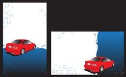 Aliste para imprimir tarjetas de visita ilustración del vector