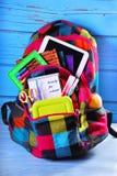 Aliste para la escuela Fotografía de archivo libre de regalías