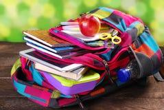 Aliste para la escuela Foto de archivo libre de regalías