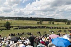 Aliste para la guerra en Gettysburg Imagenes de archivo