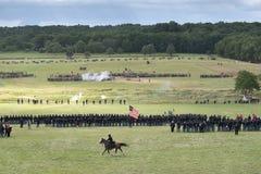 Aliste para la guerra en Gettysburg Foto de archivo libre de regalías
