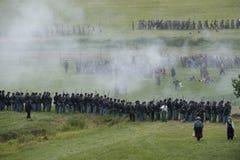 Aliste para la guerra en Gettysburg Imágenes de archivo libres de regalías