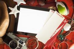 Aliste para las vacaciones de verano Imágenes de archivo libres de regalías