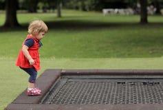 Aliste para saltar Foto de archivo libre de regalías